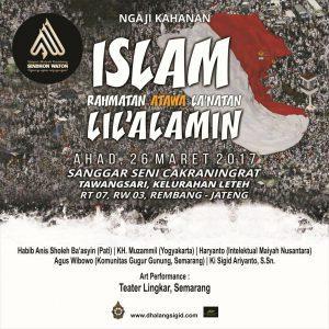 Islam Rahmatan atawa La'natan Lil'alamin