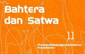 BAHTERA dan SATWA - 06 Juni 2017