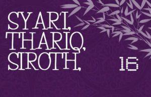 SYARI, THORIQ, SIROTH - 11 Juni 2017