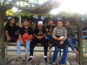 Suasana hangat pagi hari di kota Madiun Jawa Timur