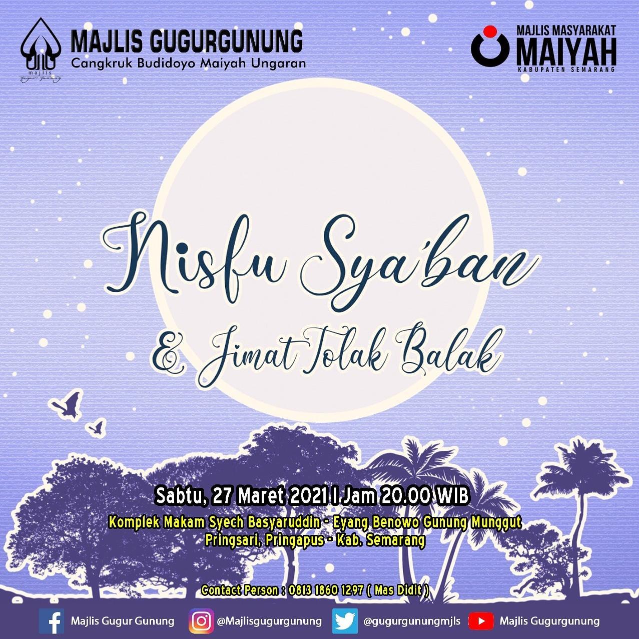 Nisfu Sya'ban & Jimat Tolak Balak